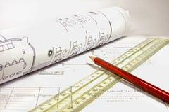план-график цепи дела Стоковая Фотография RF