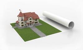 план дома Стоковые Фото