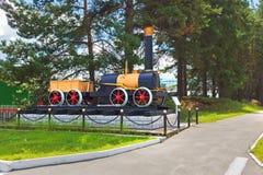 План первого русского локомотива пара Cherepanov 18 Стоковые Фото