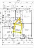 план пола Стоковое Изображение RF