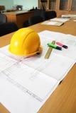 план строительства стоковое изображение rf