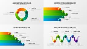 План установленного дизайна изумительного дела infographic Наградной качественный шаблон иллюстрации вектора представления аналит иллюстрация вектора