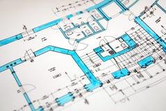план Стоковое Изображение RF