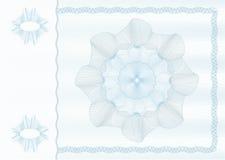 план guilloche Стоковая Фотография RF