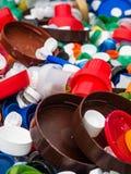 Пластиковые затворы для повторно использовать стоковое фото