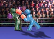 пластилин боксеров Стоковая Фотография RF