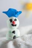 Пластилин снеговика Стоковые Изображения RF