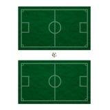 пластилин травы футбола Стоковое фото RF
