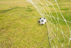 пластилин травы футбола Стоковые Изображения RF