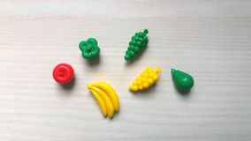 Пластичная игрушка овощей Стоковое фото RF