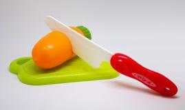 Пластичная морковь Стоковые Фотографии RF