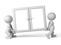пластичное окно бесплатная иллюстрация