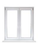 пластичное окно Стоковое Фото