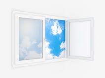 пластичное окно Стоковые Изображения RF