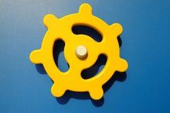 пластичное рулевое колесо Стоковое фото RF