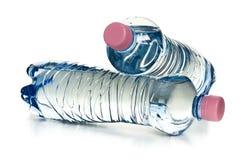 Пластичные бутылки воды Стоковая Фотография RF