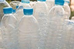 Пластичные бутылки, рециркулированные пластичные бутылки стоковое изображение rf