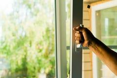 Пластичные окна Стоковое Фото