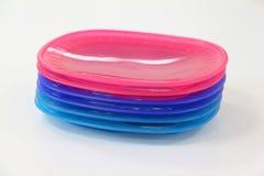 пластичные плиты Стоковая Фотография RF