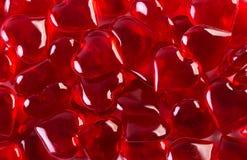 пластичные сердца Стоковая Фотография