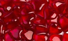 пластичные сердца Стоковое Изображение