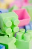 Пластичные строительные блоки Стоковые Фотографии RF