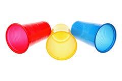 Пластичные чашки Стоковое Изображение RF