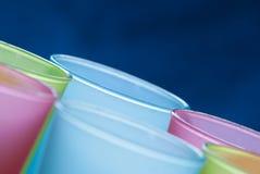 Пластичные чашки Стоковые Фотографии RF
