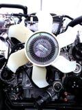 Пластичный вентилятор лезвий двигателя Стоковое фото RF