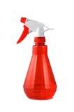 пластичный красный спрейер Стоковые Фото