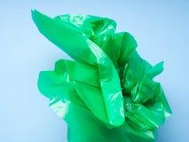 Пластичный цветок в руке Абстрактная принципиальная схема Стоковое Изображение