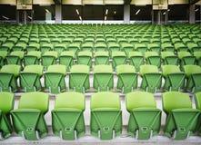 пластмасса гребет стадион мест Стоковое Фото