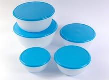 пластмасса еды контейнеров стоковые изображения
