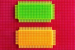 пластмасса конструкции предпосылки Стоковое фото RF