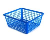 пластмасса корзины Стоковое Изображение