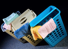 пластмасса корзины Стоковое фото RF