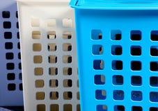 пластмасса корзины Стоковое Изображение RF