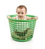 пластмасса коробки младенца Стоковая Фотография