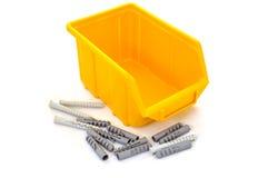 пластмасса коробки Стоковые Фотографии RF