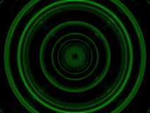пластмасса кругов зеленая Стоковое Изображение RF