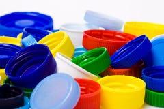 пластмасса крышки бутылки Стоковая Фотография RF