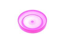 пластмасса крышки одного банка розовая Стоковое Изображение RF