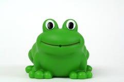 пластмасса лягушки зеленая Стоковое Изображение RF