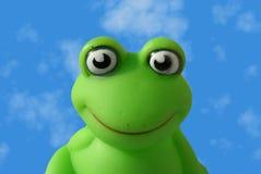 пластмасса лягушки Стоковые Изображения