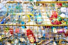 пластмасса отброса различная Стоковое Изображение