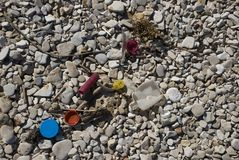 пластмасса пляжа стоковые изображения