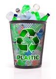 пластмасса рециркулирует стоковая фотография rf
