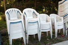пластмасса стула Стоковая Фотография