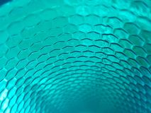 пластмасса с дизайном на aquamarina, текстурированном цвете предпосылки Стоковые Изображения RF