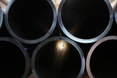 пластмасса трубы Стоковая Фотография